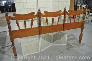 Wood Headboard - King Size