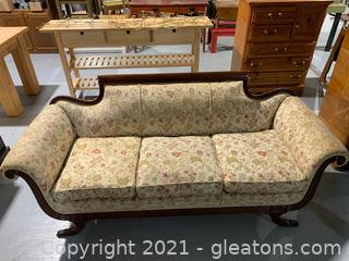 Duncan Phyfe Empire Sofa