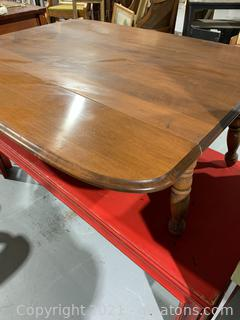 Drop Leaf Coffee Table - Medium Honey Oak Stain