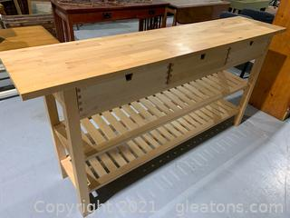 Ikea Bar Height Buffet Table