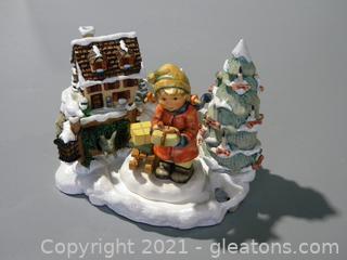 """Tidings of Joy"" Holiday Display #1083-D"