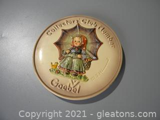 Collectors Club Member Plate #690