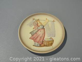 Wash Day Plate, #746