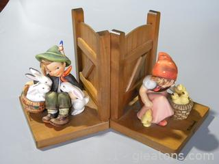 """Bookends """"Playmates"""" #61A #61B"""