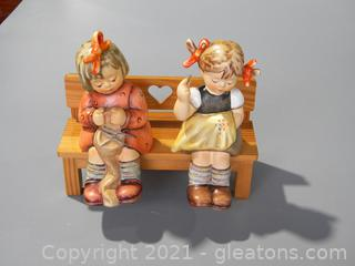 """""""Nimble Fingers"""" and """"To Keep You Warm"""" on Bench #758 and #759"""