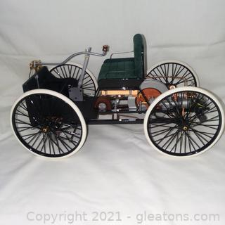 Franklin Mint 1896 Henry Ford Quadricycle 1:6 Scale Diecast