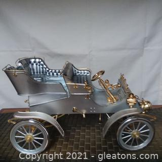 VALUABLE Cartier SILVER AND GOLD Model of 1903 MODEL A FORD, BY AMERICAN SILVERSMITHS GUILD AND CARTIER FOR FORD DIAMOND ANNIVERSARY, 1978