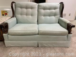Traditional Vintage Loveseat