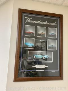 Ford Thunderbird Signed/Numbered Print