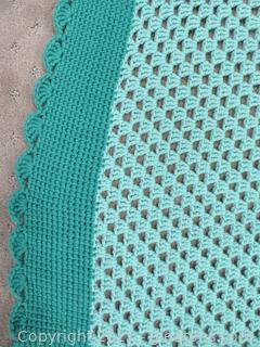 Gorgeous Handmade Crocheted Afghan