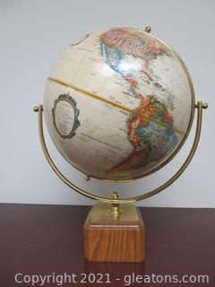 "Vintage Replogle World Classic 12"" World Globe"