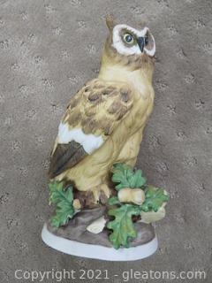 Majestic Ceramic Owl