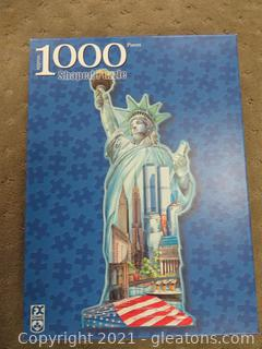 Two 1000 Piece Puzzles