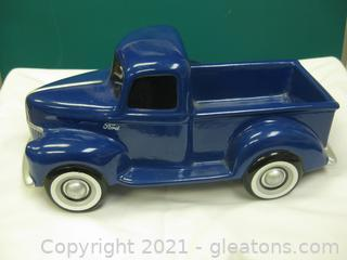 Ceramic Old Ford Truck From Teleflora