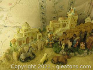 Roman Incorporated ,Town of Bethleham  Light, musical Nativity