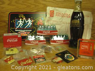 Large Coca-Cola Collector's Group