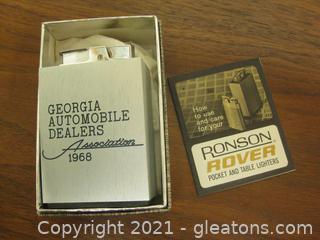 Vintage Ronson Rover Pocket Lighter