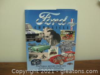 """Hard Back Coffee Table Book """"Ford Chronicle"""" (B)"""