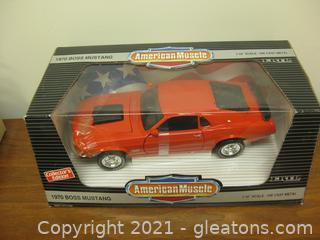 Die Cast 1:18 Scale Ford Mustang Boss 429 (1970)