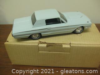 Vintage Transistor Radio in the Form of a 1966 Thunderbird