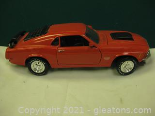 Die Cast-1:18-Scale Ford Mustang Boss 429 (1970)