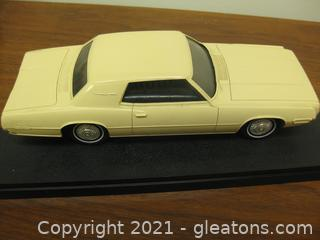 Vintage Transistor Radio in the Form of a 1968 Ford Fair Lane