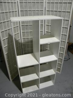 White Cube Shelves