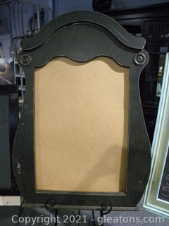Scrolled Mirror Display Frame