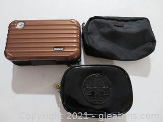 Three Make-Up Bags/Airline Amenity Kits
