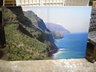 Beach Printed Canvas