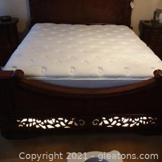 Simmons Beautyrest Classic Pillow-top California King Mattress and Box Springs