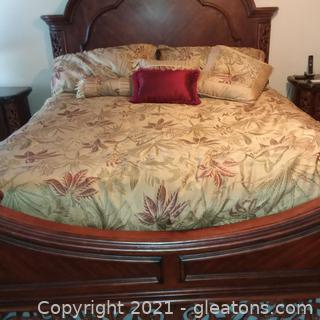 California King Reversible Comforter Set