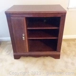 Small Storage Cabinet/Entertainment Center