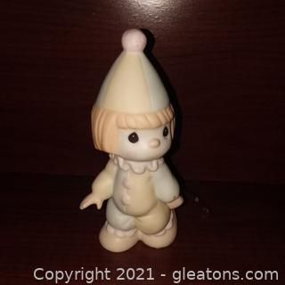 "Precious Moments ""Bless the Days of Our Youth"" Clown Figurine"
