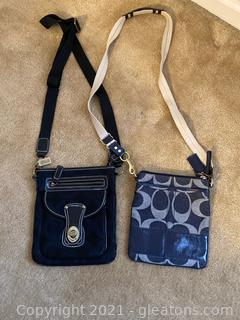 Lot of 2 Coach Crossbody Bags