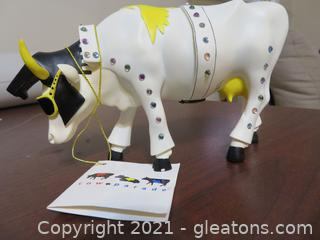 Adorable Cow Parade Rock-N-Roll Cow