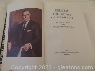 """Great Condition, """"Delta: The History of An Airline"""" Book"""