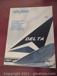 "Vintage ""Delta Digest"" 1983 Volume XLII No 6"