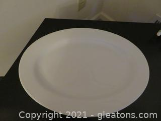 Beautiful Cook at Home White Platter