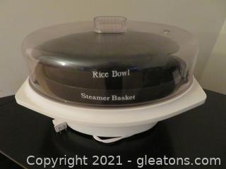 Rival-Automatic Food Vegetable Steamer and Rice Cooker