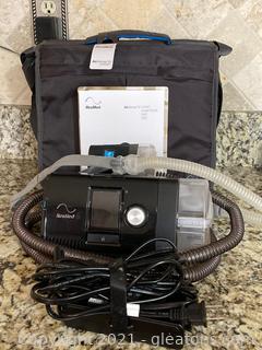 Red Med Air Sense 10 Sleep Apnea Machine CPAP W/Case
