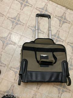 Chaps Rolling Computer Bag and Briefcase