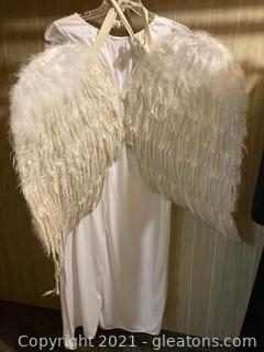 2 Adult Costumes Light / Dark Angels