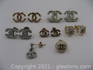 Lot of Designer-Like Earrings