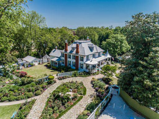 Luxury Historical Mansion, Event Center & Property Auction of Highgate Estate and Gardens in Greensboro, GA