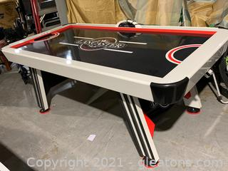 Lancaster Gaming Company Indoor Air Powered Hockey Game Table