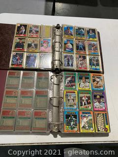 Collectors Baseball Cards (A)