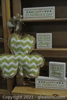 Irish Decor (Lot of 5)