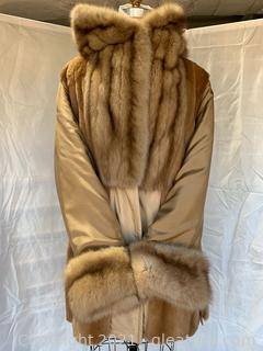 Bisang Couture Sable & Sheared Mink Jacket