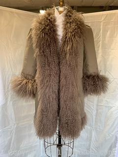 Tibetan/Mongolian Lamb Fur Coat